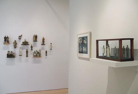 Installation, 20th c. Folk Photos, Washburn Gallery