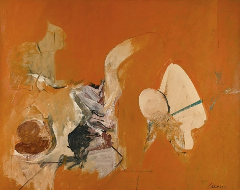 Desert Lights, c. 1959, oil on canvas, 60 x 75 in.