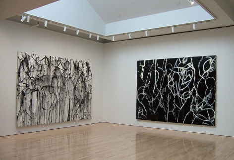 Nicolas Carone: Recent Paintings, Washburn Gallery, Installation View