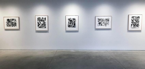 """Jackson Pollock: The Graphic Works,"" Washburn Gallery, January 17 - March 9, 2019"