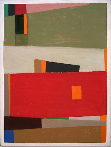 Untitled (101J), 1969, acrylic on canvas, 72 x 54 in.
