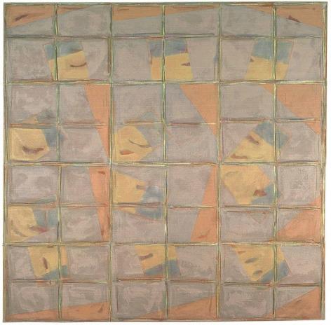Epiphany, 2007, oil on linen, 62 3/4 x 62 1/4 in.