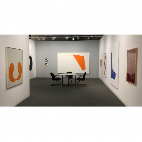 Washburn Gallery Booth at Art Basel Miami Beach