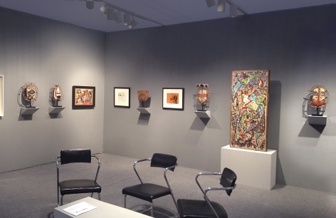 Washburn Gallery Booth ADAA: The Art Show 2014