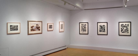 """Jackson Pollock: Works on Paper, 1936-1951,"" Gallery III, Washburn Gallery, 20 West 57 Street, New York"