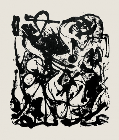 Jackson Pollock, Untitled, CR1094 (After painting Number 19, CR333), 1951 (Printed from original screen in 1964), screenprint, 29 x 23 in.