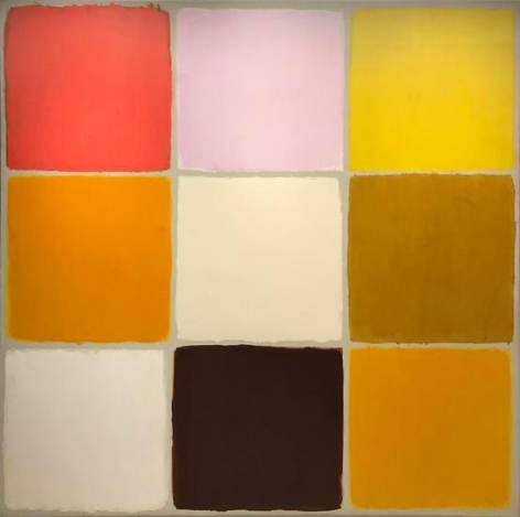 Ray Parker, Untitled (No. 396), 1964, oil on canvas, 81 x 82 in.