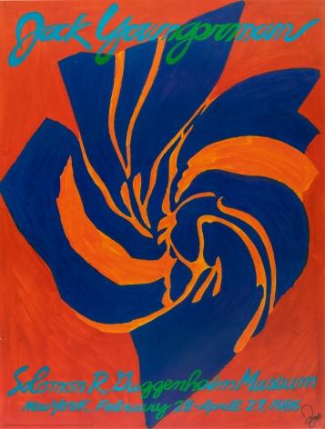 "Solomon R. Guggenheim Museum ""Jack Youngerman,"" 1986"