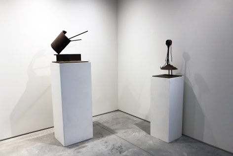 From Right to Left:, Untitled, c. 1959 , Steel, 24 x 12 x 12 in.