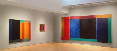 """Installation of """"Doug Ohlson:  Paintings from the 1980s"""" at the Washburn Gallery, New York"""