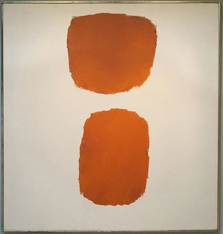 Ray Parker, Untitled (No. 88), 1962, oil on canvas, 74 x 70 in.