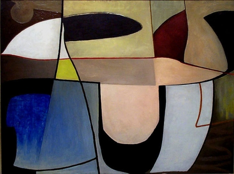 Untitled, 1939, oil on canvas, 30 x 40 in. by Alice Trumbull Mason