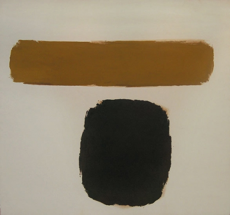 Untitled, 1961, oil on canvas, 81 x 86 1/2 in.
