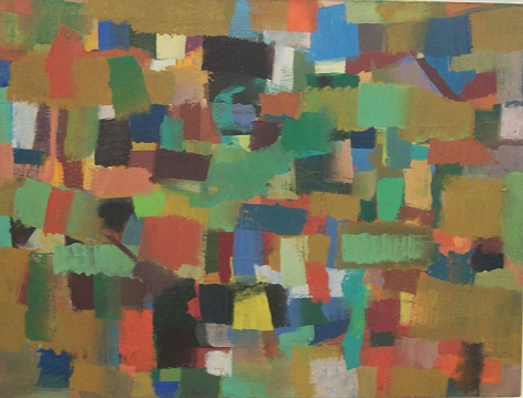 Untitled, 1954, oil on canvas, 24 3/4 x 32 5/8 in.