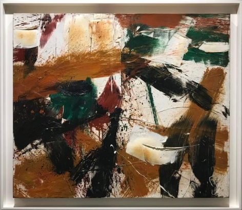 Michael Goldberg, Untitled, 1959, oil on canvas, 31 x 35 1/2 in.