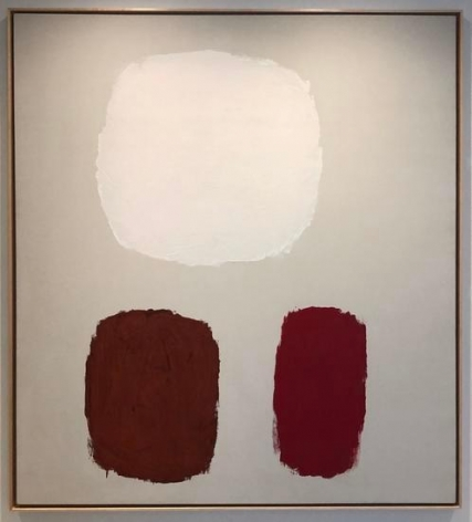Ray Parker, Untitled, c. 1960, oil on canvas, 75 x 66 1/2 in.