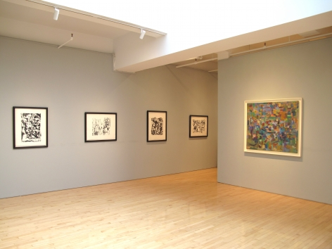 From Right to Left:, RAY PARKER (1922-1990), Untitled, 1953-54, Oil on canvas, 40 x 46 in.