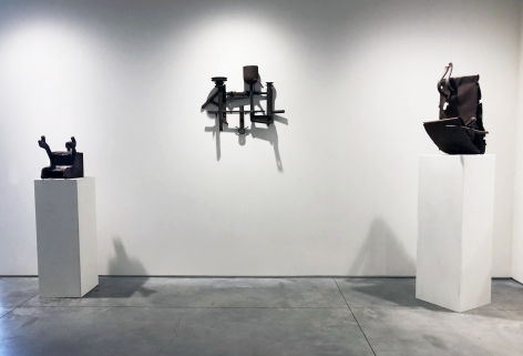 From Right to Left:, Untitled, 1963 , Steel, 28 x 16 x 14 in.