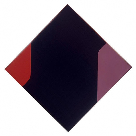 "Leon Polk Smith, ""Pahuska,"" 1955, oil on canvas, 59 1/4 x 59 1/4 in."