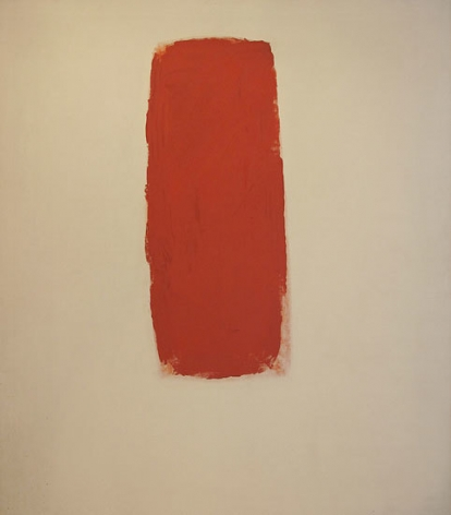 Untitled, 1962, oil on canvas, 77 x 68 in.