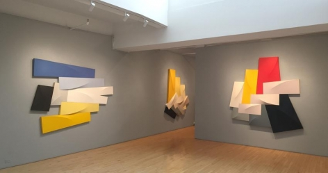 """Charles Hinman: Works from the 1980s,""  Washburn Gallery, New York"