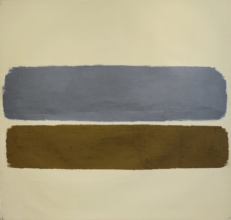 Ray Parker, Untitled, 1962, oil on canvas, 66 x 69 1/2 in.