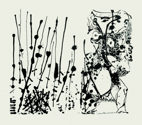 Untitled (After CR#324), 1951, Screenprint, ed. 16/25
