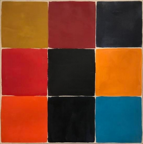 Untitled (No. 265), 1965, oil on canvas, 30 x 30 in.