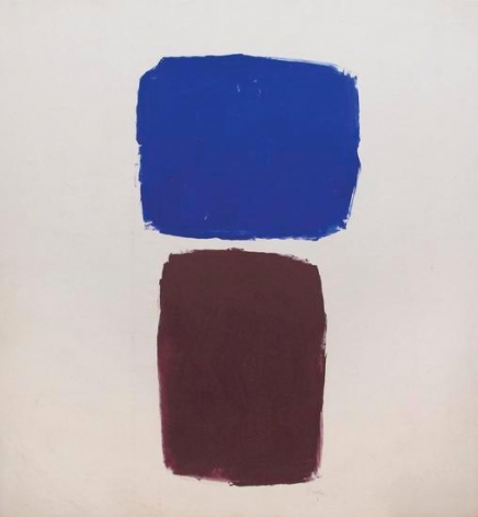 Ray Parker, Untitled (No. 806), 1962, oil on canvas, 69 x 64 in.