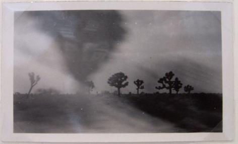 Tornado, c. 1950, 4 1/2 x 2 3/4 in.
