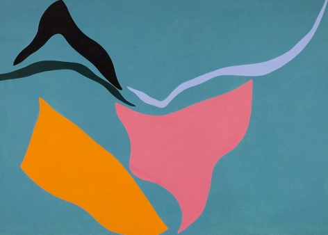 Untitled, 1971, oil on canvas, 60 x 84 in.