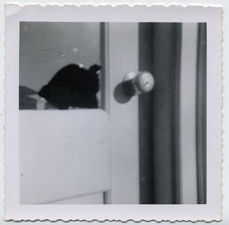 Broken Window, 1960s, 3 3/16 x 3 5/16 in.