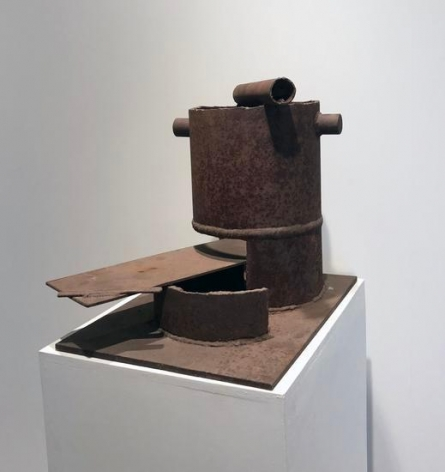 Richard Stankiewicz, Untitled, c. 1965-69, steel, 19 x 21 x 20 in.
