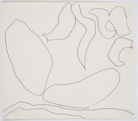 Untitled, c. 1968, ink on paper, 8 x 9 in.