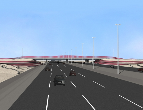 Al Zubara Interchanges