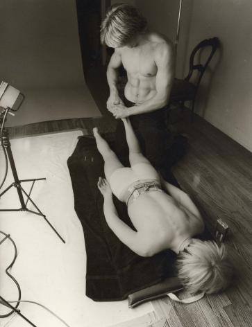 Christopher Makos, Andy Massage