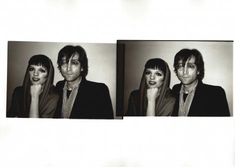 Christopher Makos, Liza and Lennon