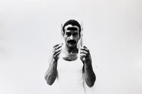 Christopher Makos, Victor Hugo With Moustache