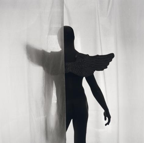 Robert Giard, Male Nude Wearing Angel Wings, 1994