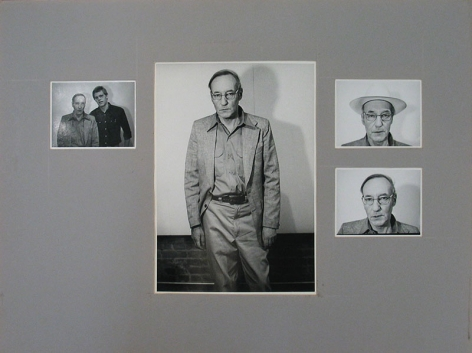 William Burroughs by Jimmy DeSana