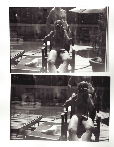 Christopher Makos, Self Portrait, Hamptons, 1980's