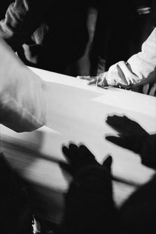 Shadow on casket by Stephen Barker