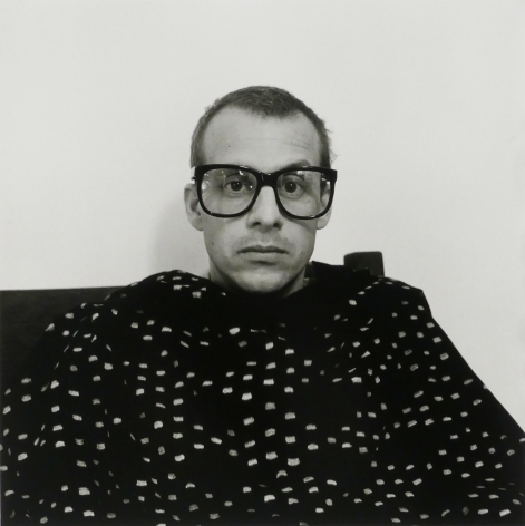 Man with glasses by Robert Giard