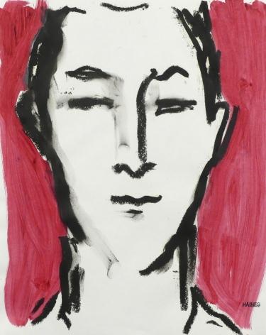 Richard Haines, Red Portrait