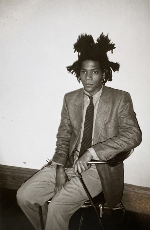 Christopher Makos, Basquiat At The Factory
