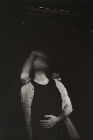 Men embracing by Stephen Barker