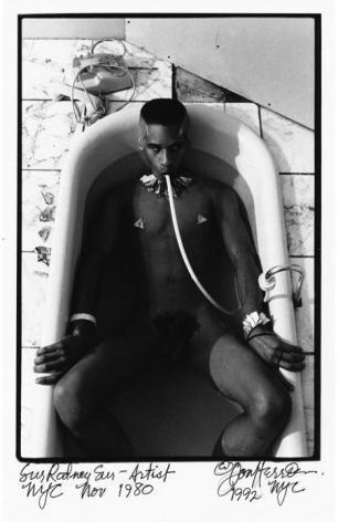 Sur Rodney Sur in bathtub by Don Herron
