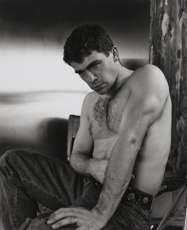 Man in jeans by Stephen Barker
