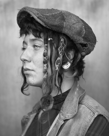 Woman with cap by Michael Joseph