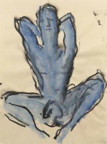 Richard haines, Blue Nude